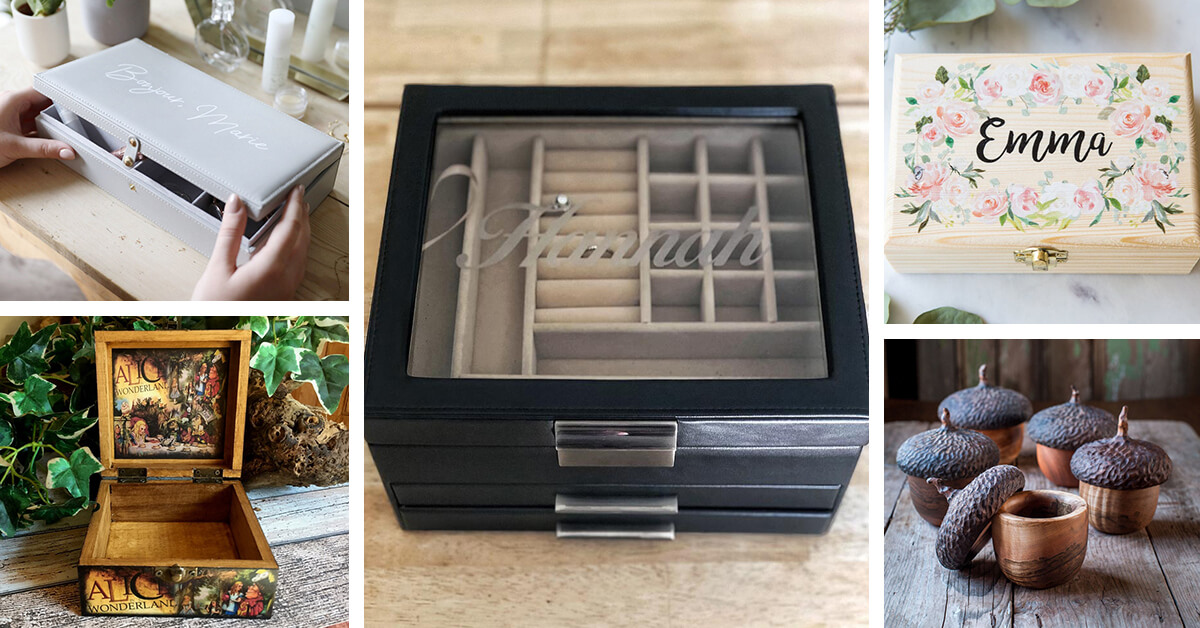 23 Best Jewelry Storage Ideas And Boxes That Are Functional In 2021