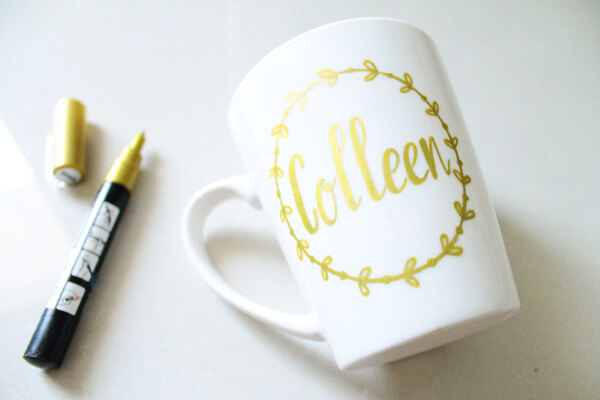 You're Golden - Customized Name Mug
