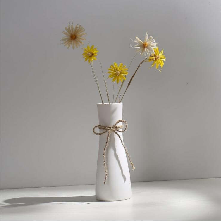 Simply Elegant Ceramic Flower Vase