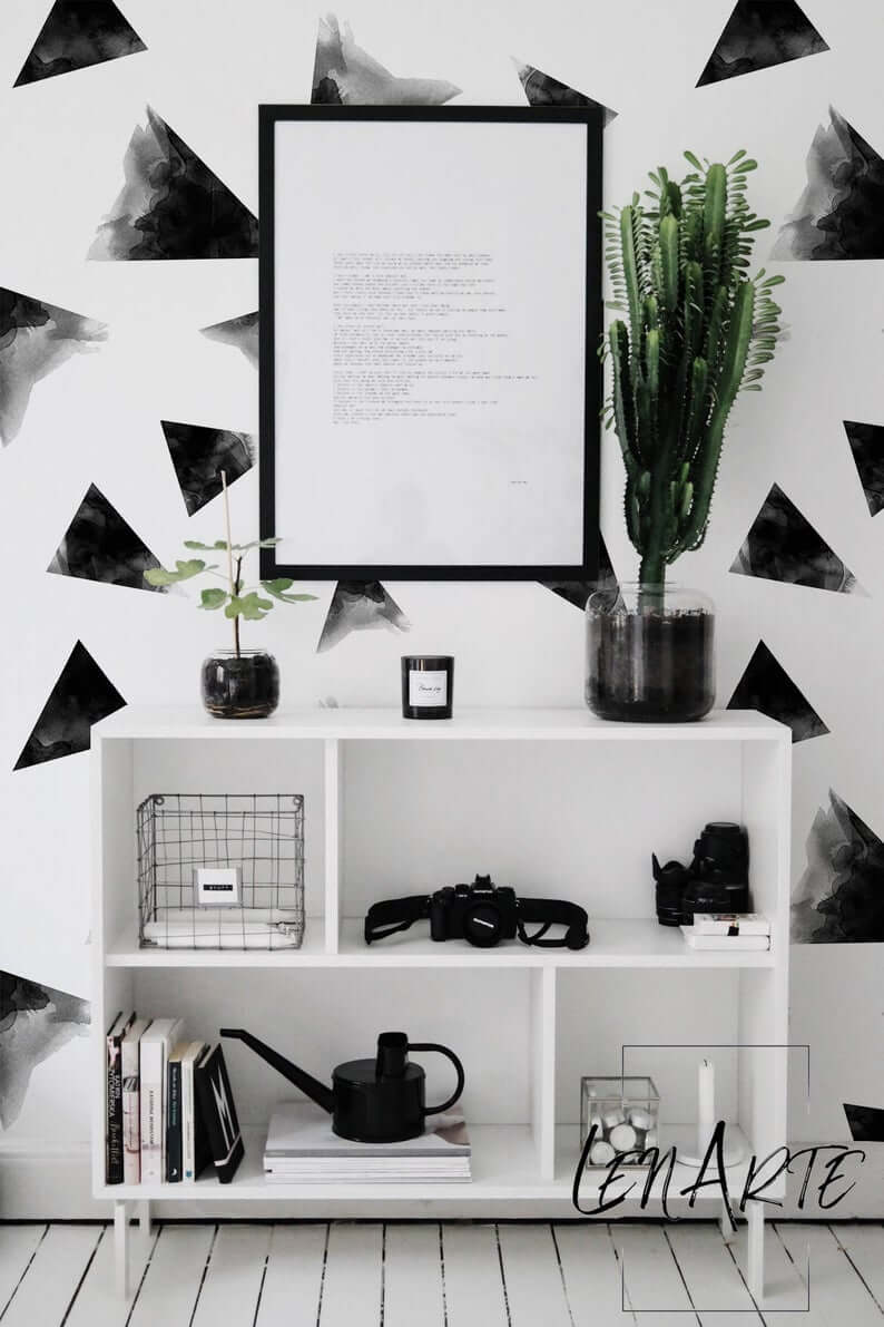 Cool Black and White Living Room Decor