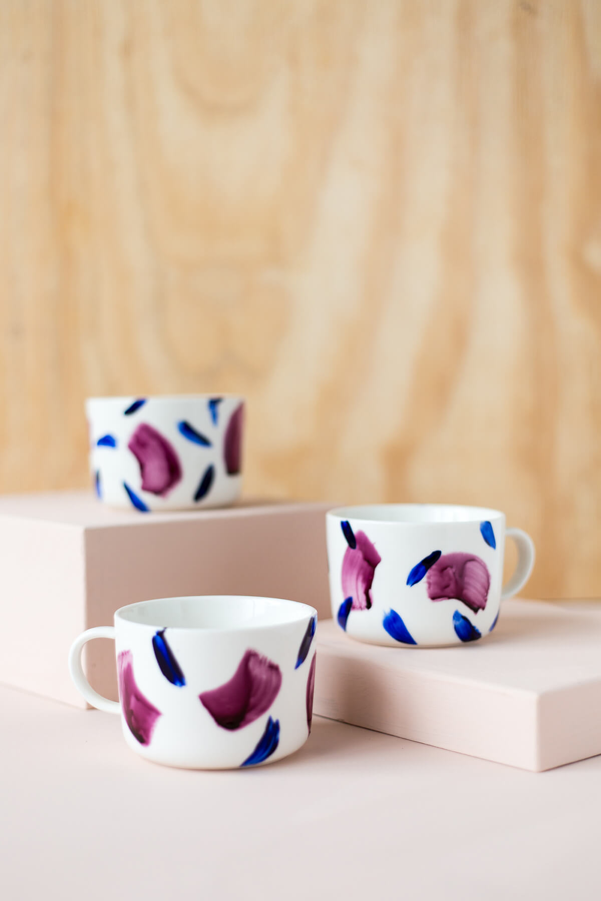 Stylish and Modern Patterned Mugs