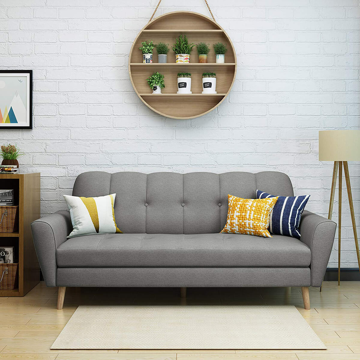 Sofas Can Fill a Supporting Role