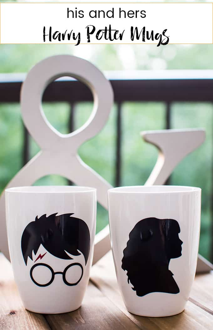 Couple's Harry Potter Mug Idea