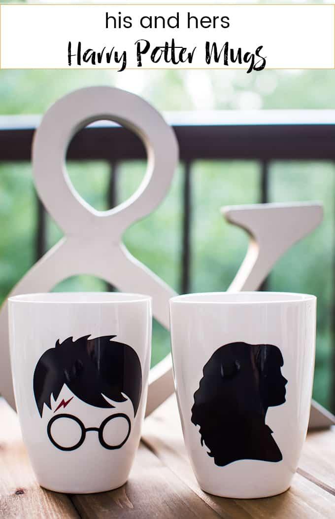 Couple's Harry Potter Mug Idea