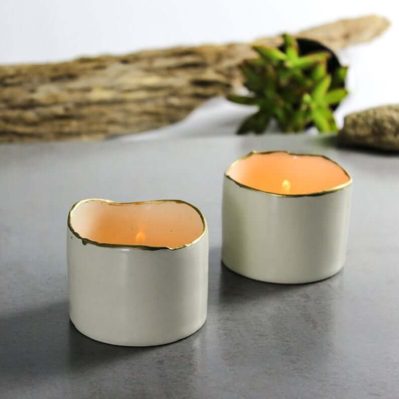 Beautiful and Elegant Ceramic Candle Holders