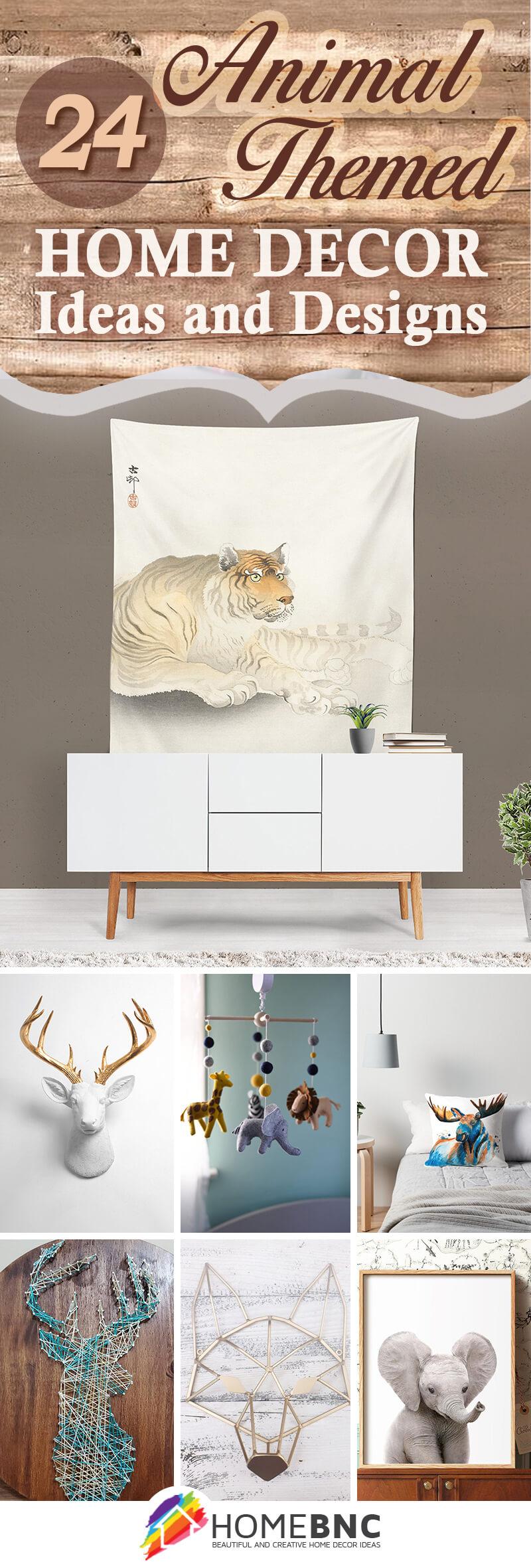 Best Animal Themed Home Decor Ideas