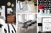 Black and White Home Decorations