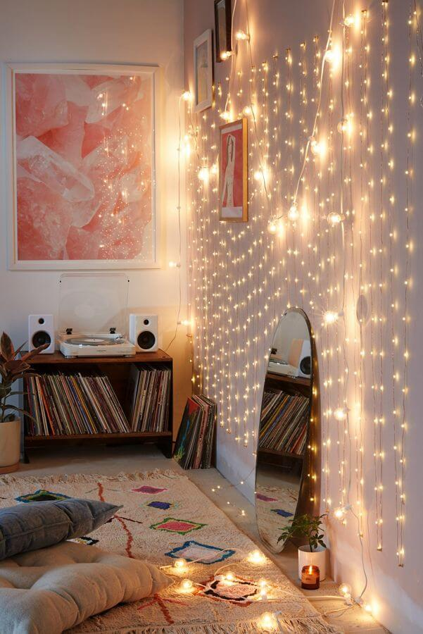 Creating a Relaxing Boho Music Corner
