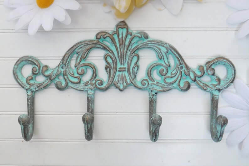Rustic Metal Key Holder