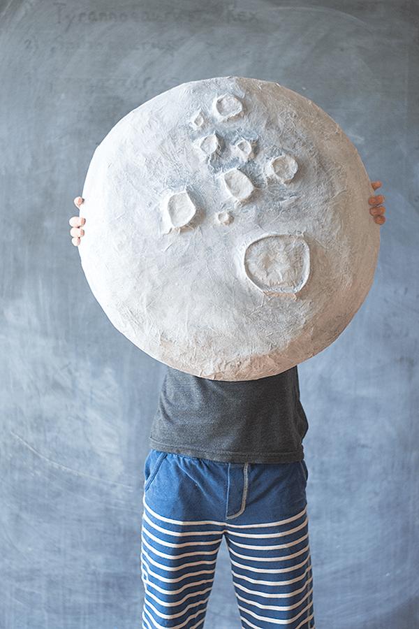 Massive DIY Paper Mache Moon