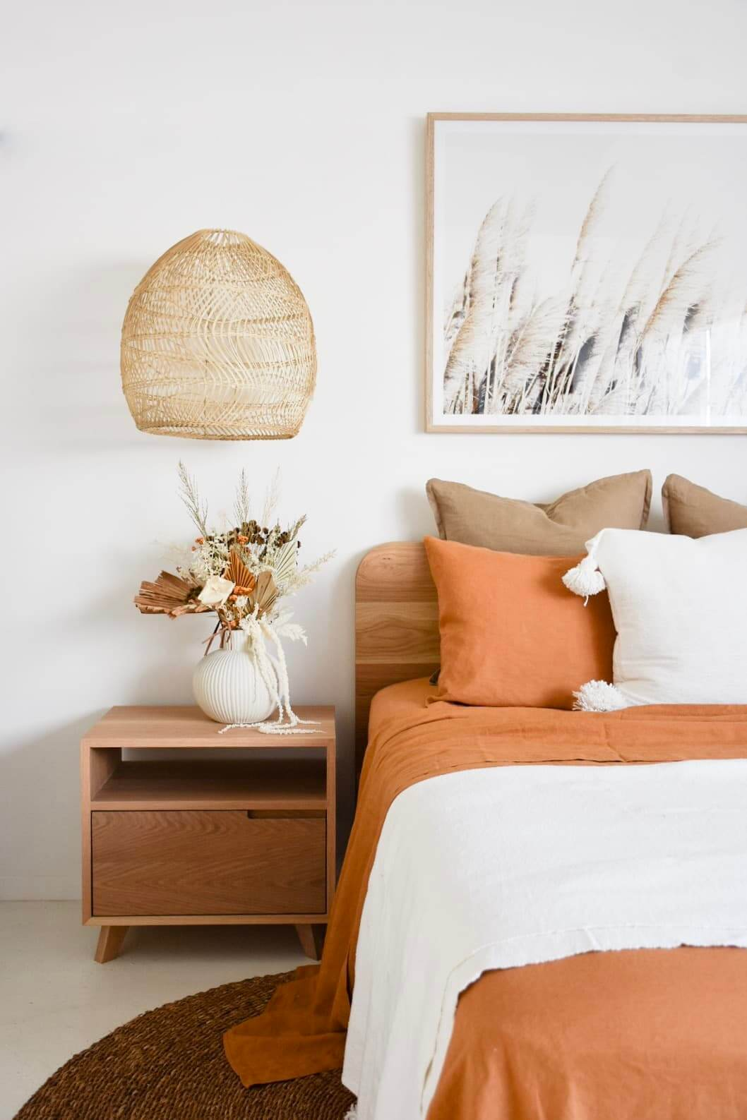 An Earth Tone Bohemian Style Bedroom
