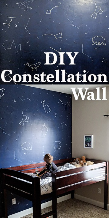 Create Your Own Constellation Mural