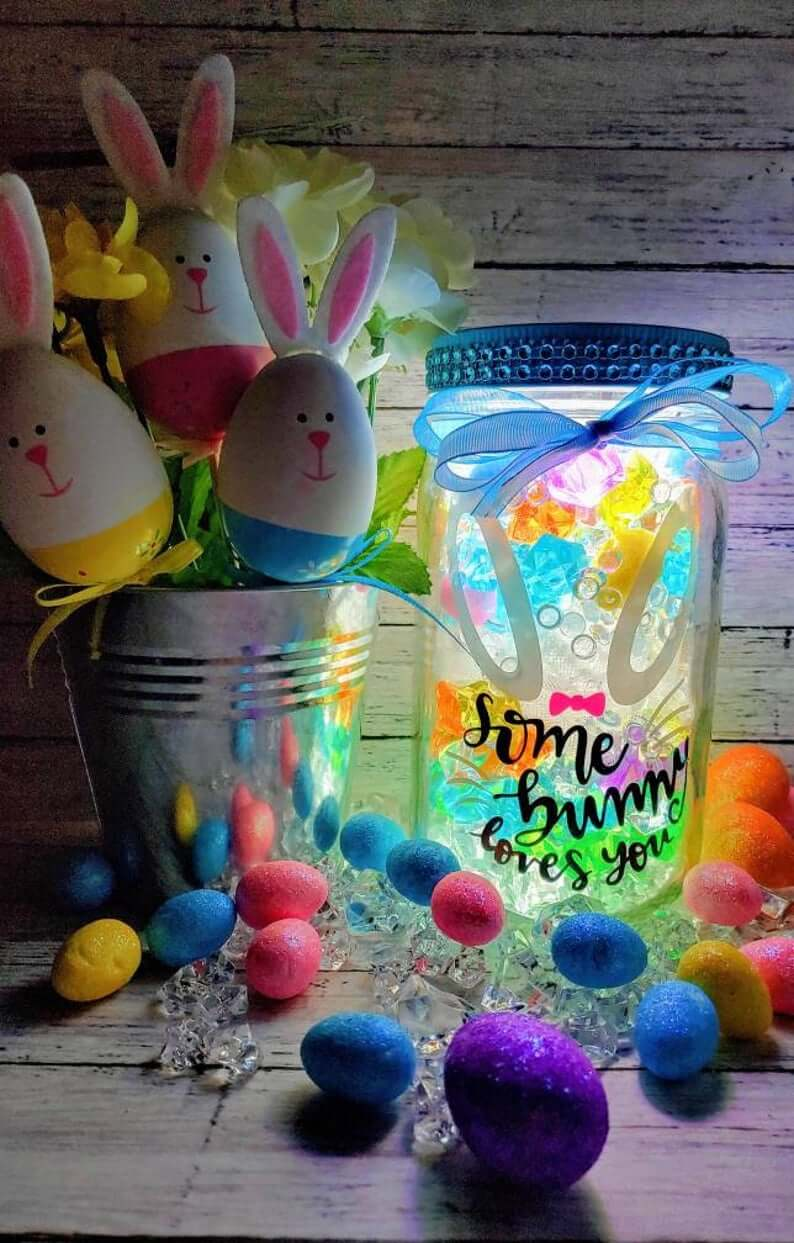 21 Best Easter Mason Jar Ideas To Capture The Holiday Spirit In 2021