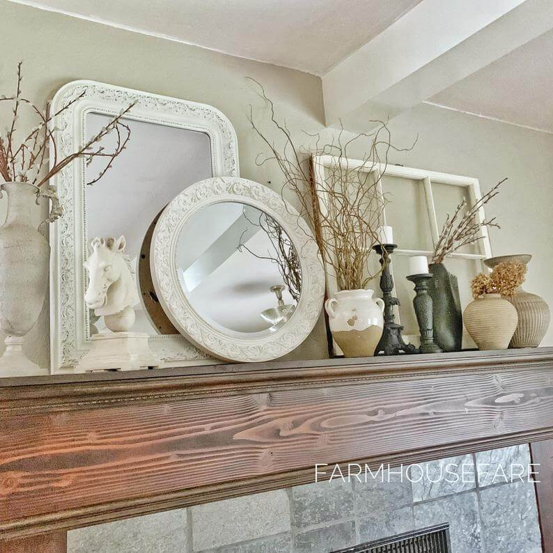 Ornate Victorian Framed Multi-shaped Mirrors