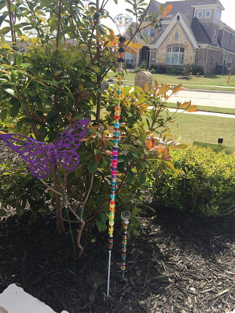 Whimsical Garden Stakes to Beautify Your Garden