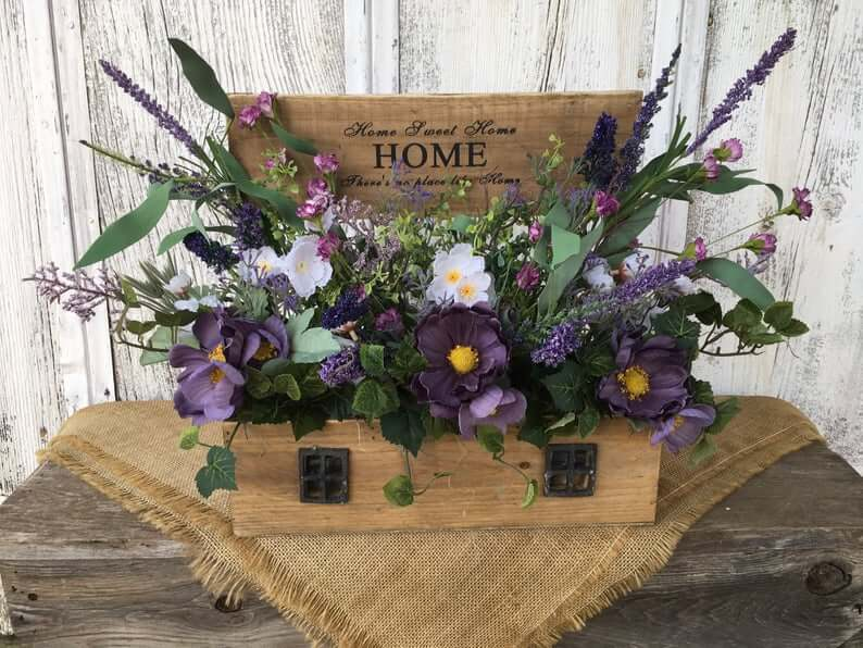 There's No Place Like Home Flower Box