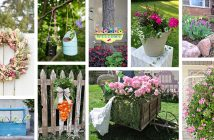 Spring Garden Decor Ideas