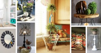 Lamps and Lamp Shade Upcycling Ideas