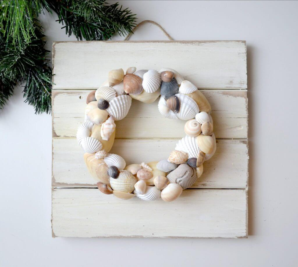 DIY Coastal Wreath Beach Home Decor