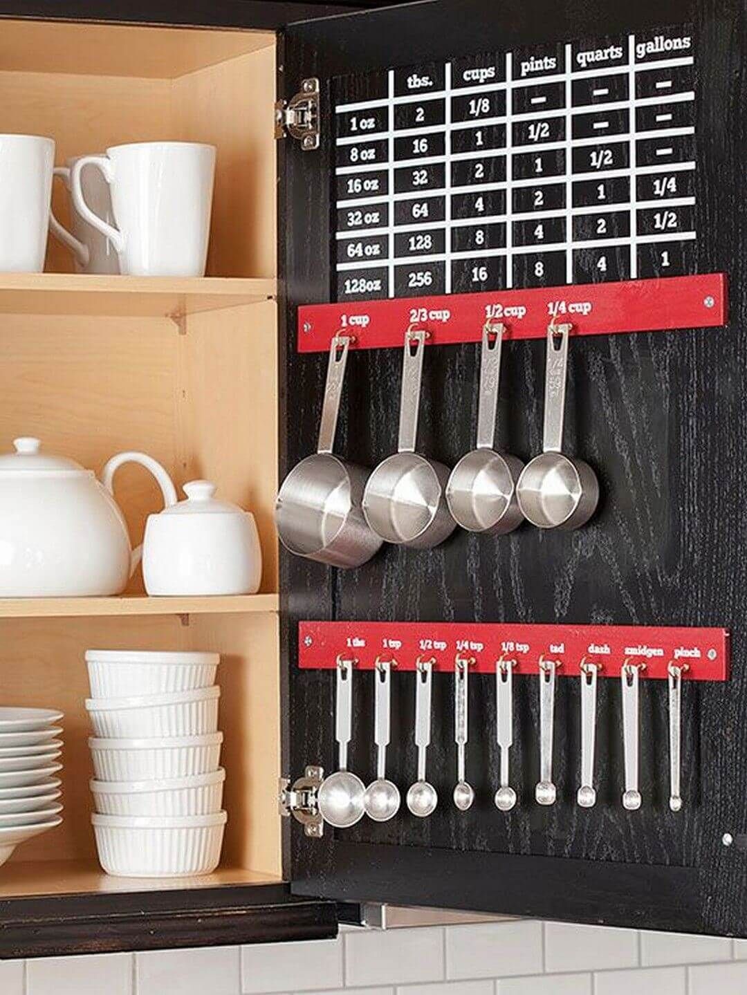 Wonderful Cheap Organization Ideas For The Cupboards