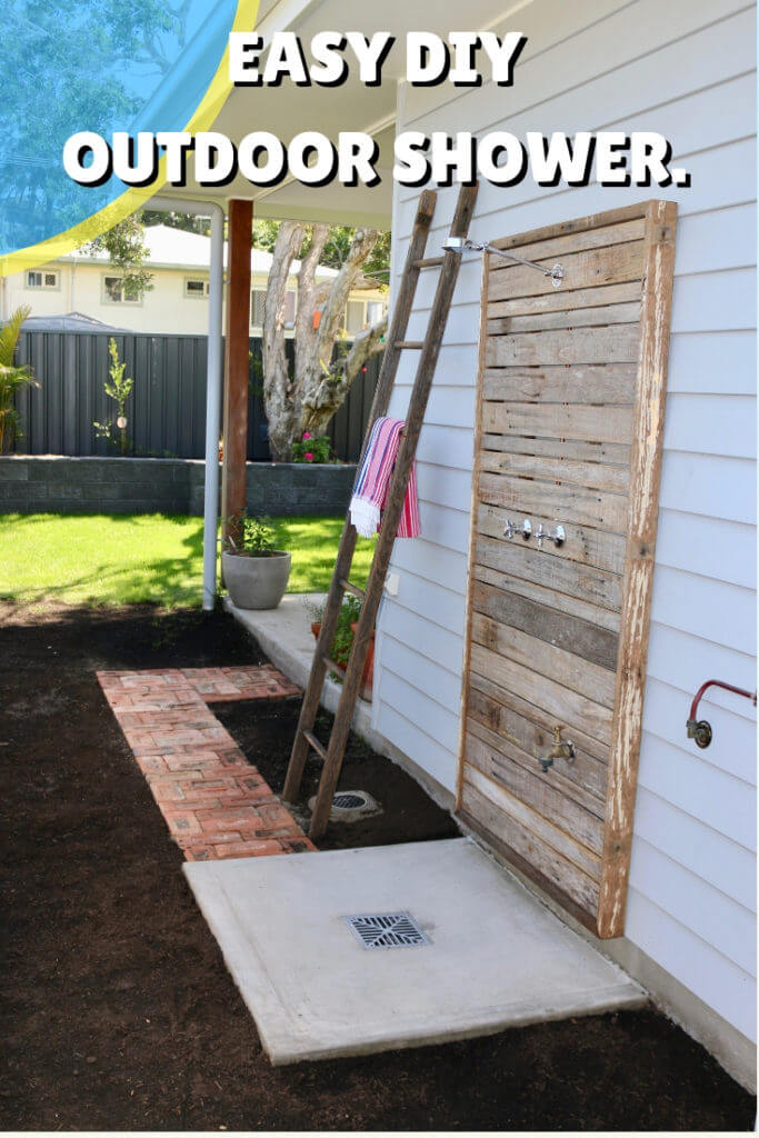 Best DIY Reclaimed Wood Projects Outdoor Shower
