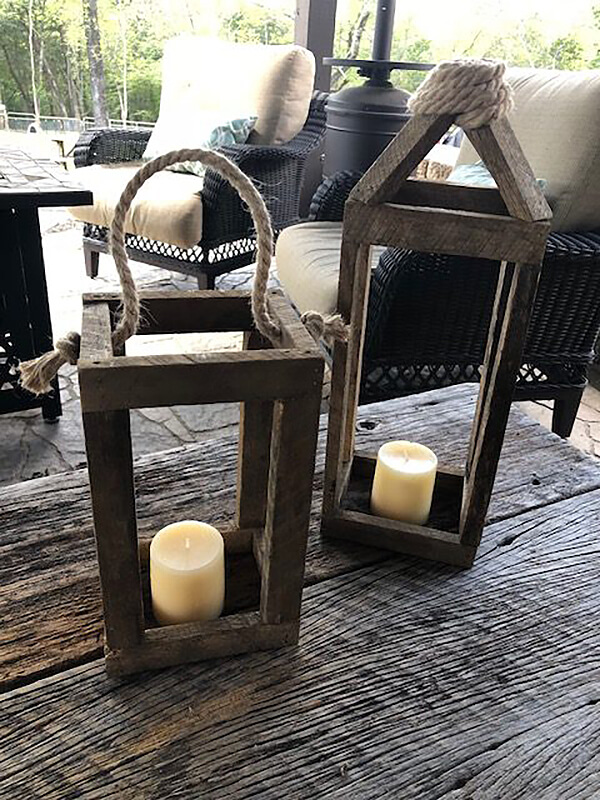 Versatile and Unique Oversized Lanterns