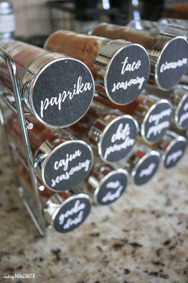 Spicy And Awesome Idea For A Spice Rack