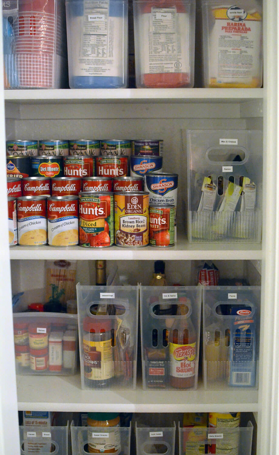 Neatly Appointed And Cute Kitchen Pantry