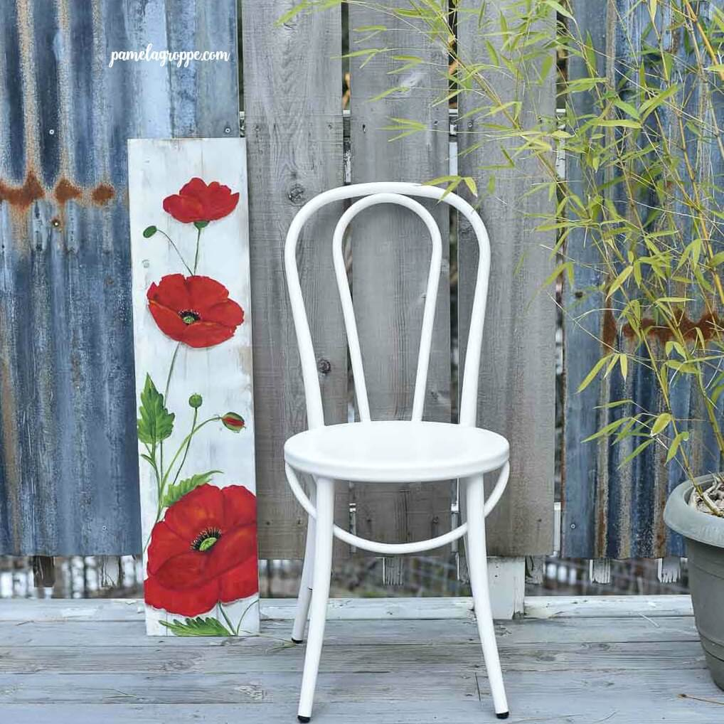 Best DIY Reclaimed Wood Projects Poppy Painting
