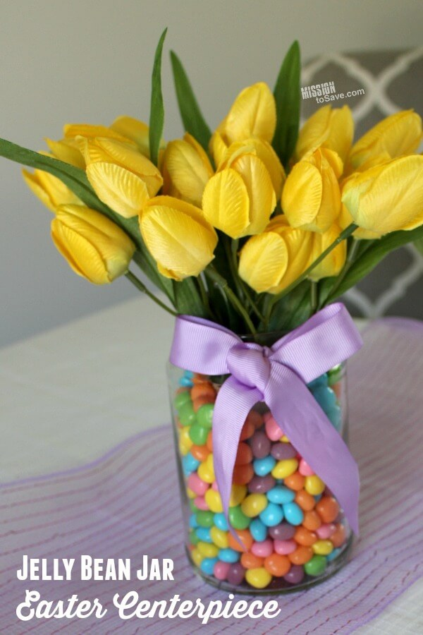 Colorful Candy and Sweet Tulips