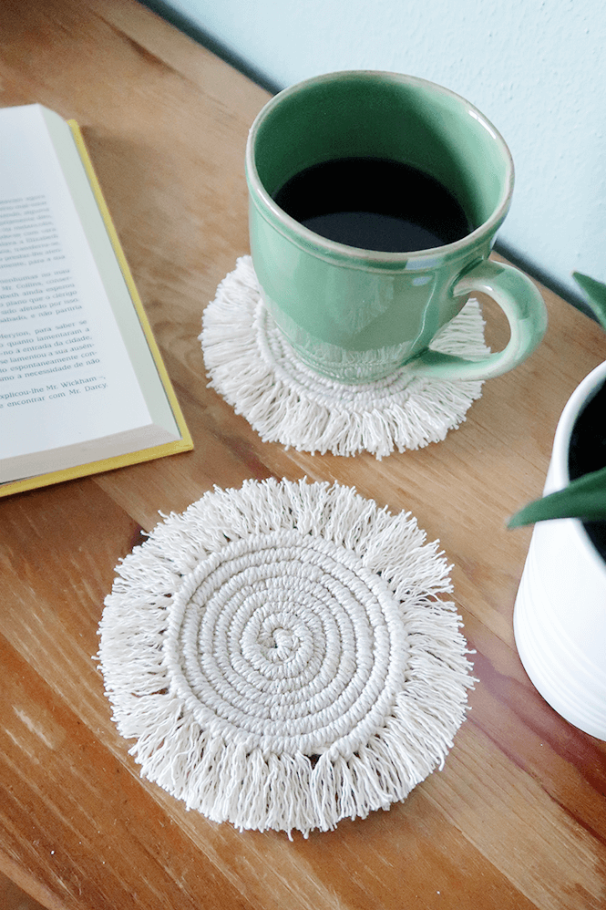 Pretty and Cute Macrame Coasters