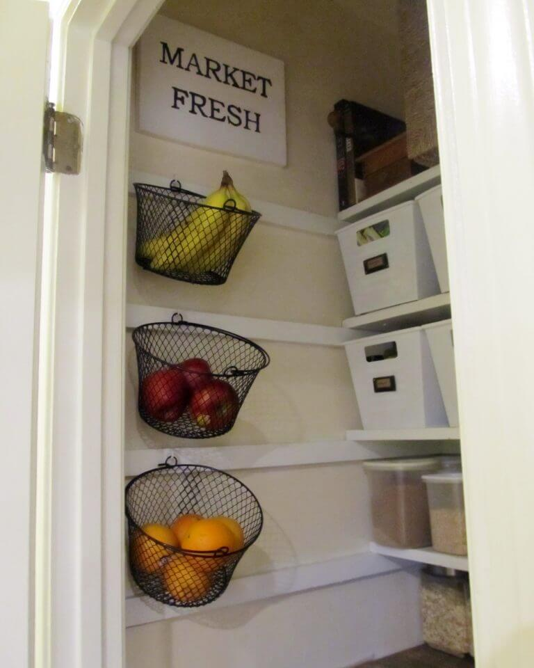 A Freshly Unique Take On Kitchen Organization