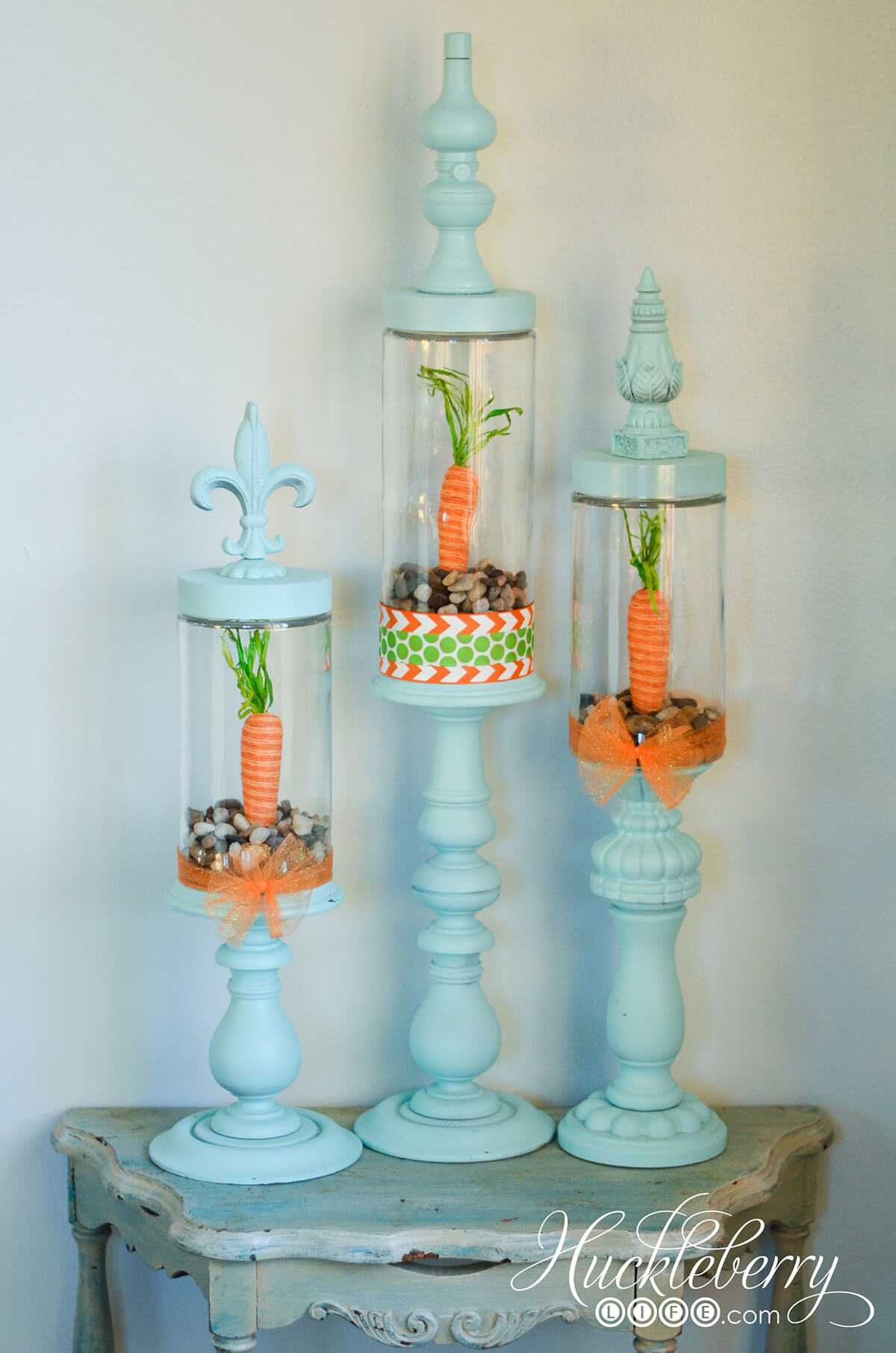 Colorful and Fun Finials For Spring