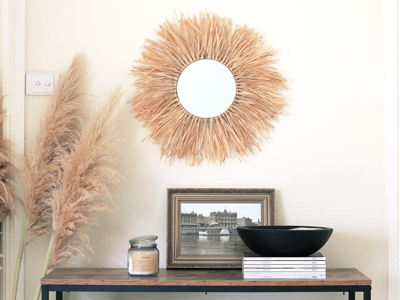 Fun Sun Burst Style Mirror Design