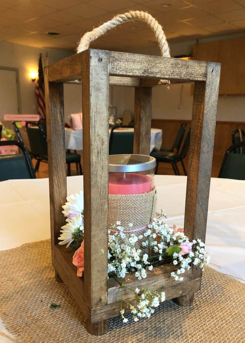 27 Best Rustic Lantern Centerpieces for a Beautiful Home in 2020
