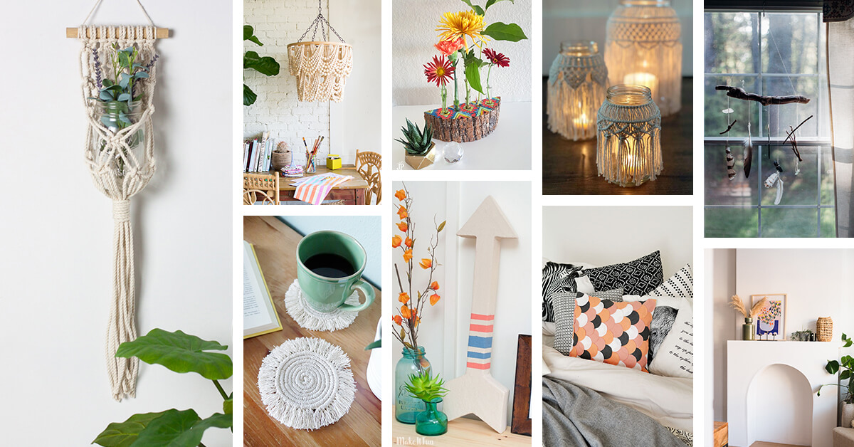21 Best Diy Bohemian Decor Ideas You Can Easily Make Yourself In 2021