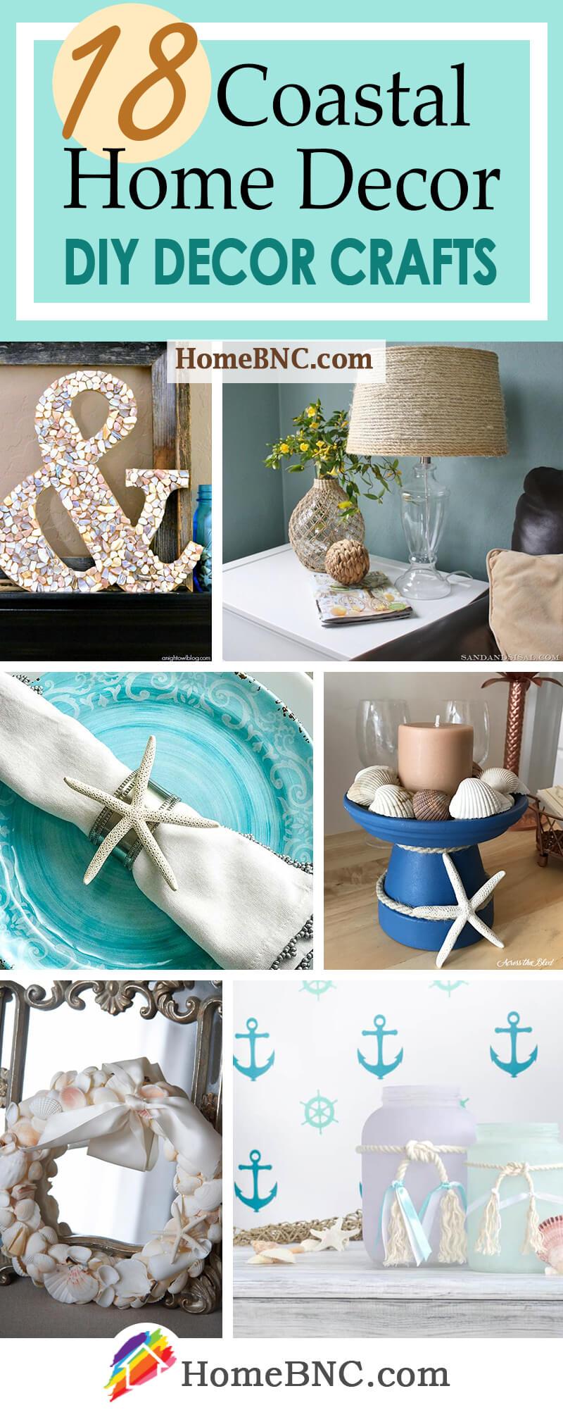 DIY Coastal Home Decor and Crafts