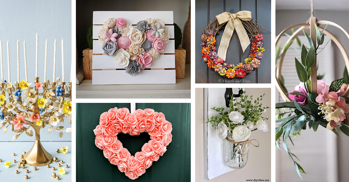 29 Best Floral Home Decor Ideas To Show Off Your True Style In 2020