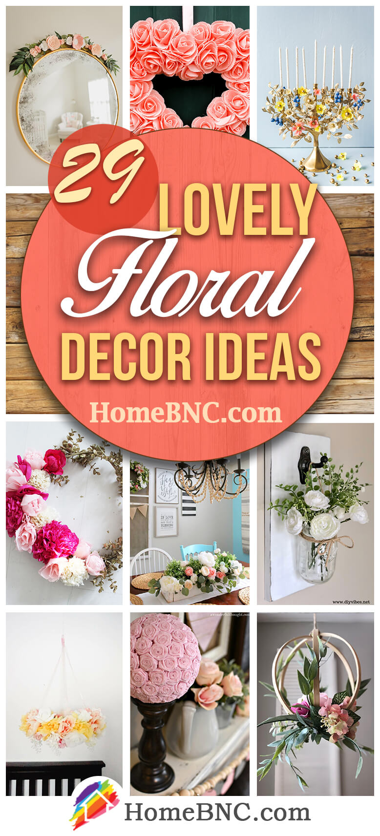 Best Floral Home Decor Ideas