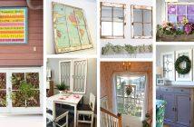 DIY Old Window Project Ideas