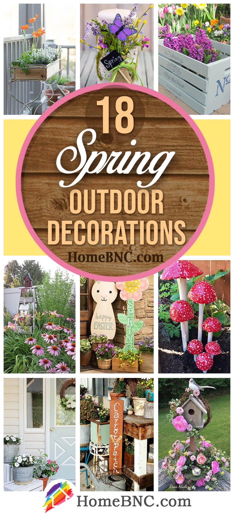 Outdoor Spring Decoration Ideas