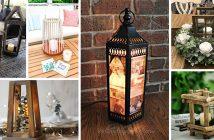 Rustic Lantern Centerpiece Ideas