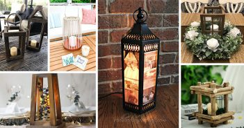Rustic Lantern Centerpiece Ideas