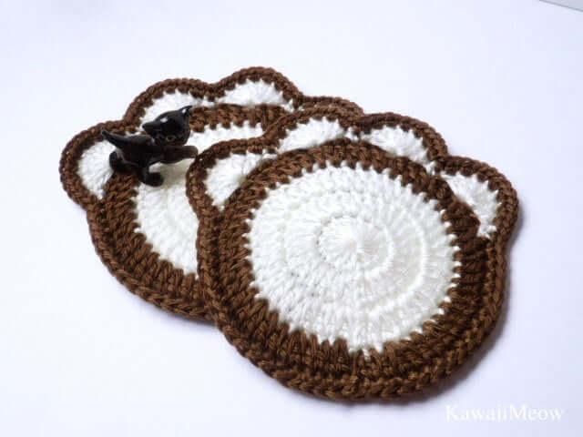 Crochet Me a Cat Paw Doily Please