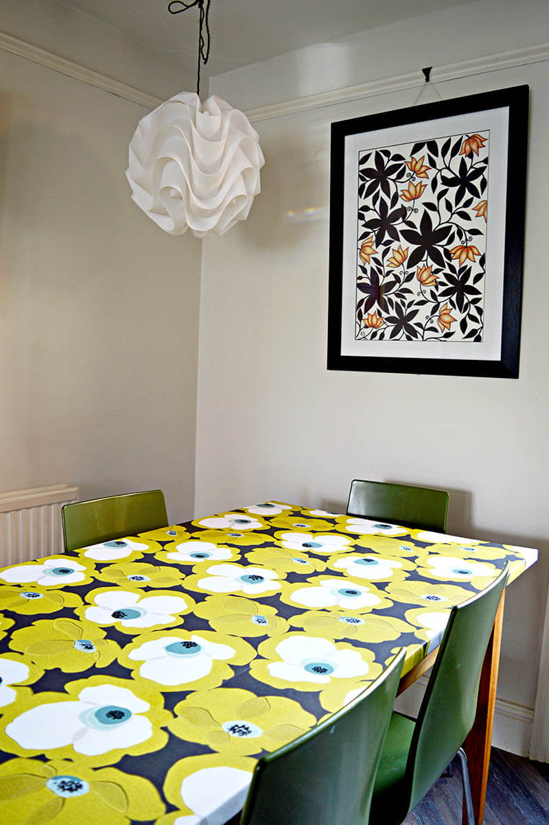 Cool Designer Decoupage Table Top