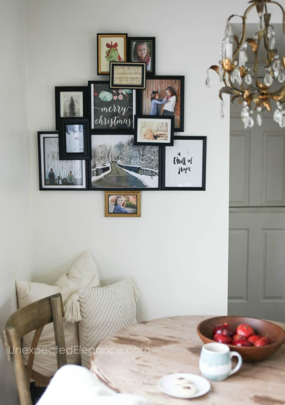 Unique Photo and Art Collage Frame