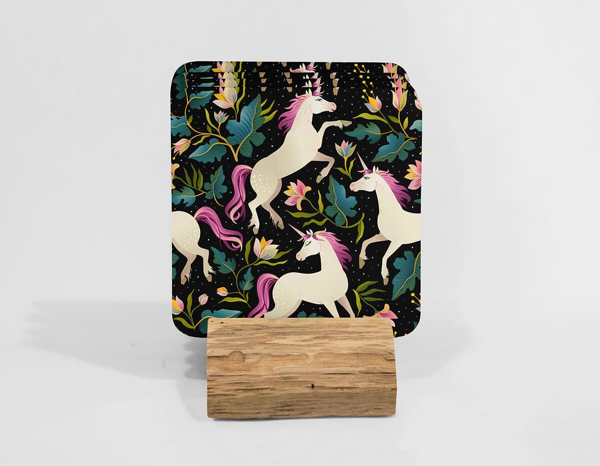 Dancing Unicorns Tapestry Magic
