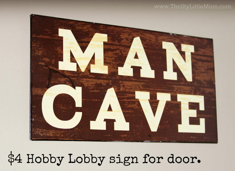 Every Man Deserves a Man Cave
