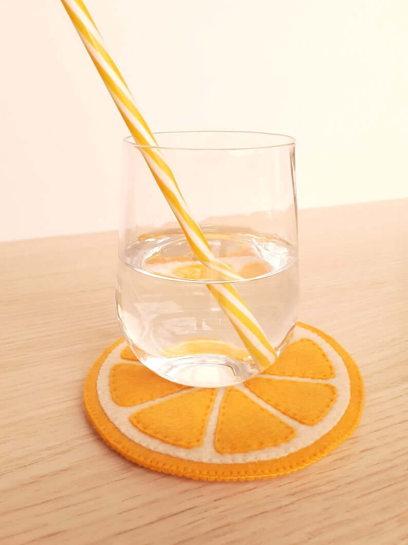 I'll Have an Orange with my Coaster