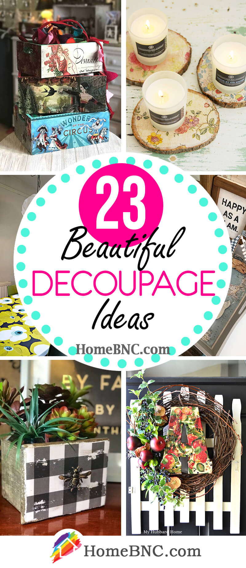 23 Best Decoupage Ideas To Liven Up Your Home Decor In 2021